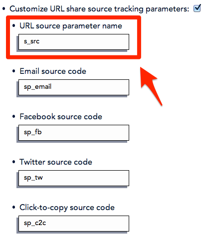 Set Convio source codes by setting the source parameter name to s_src